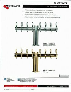 Draft Beer System 8 Product Complete