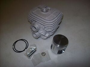 Stihl Ts 420 Rebuild Kit W Cylinder Piston Rings Clips Piston Pin Gasket
