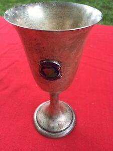 Sterling Silver Michigan Horse Show Saddlebred Yearl Trophy 1969 Champion Cup