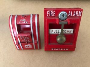 Lot Of 2 Fire Alarm Pull Stations