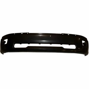 Front Bumper For 2009 2010 Dodge Ram 1500 W Rectangular Fog Light Holes Gray