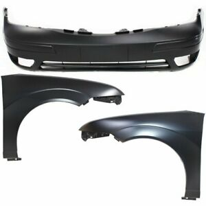 Front New Auto Body Repair Kit For Ford Focus 2005 2007