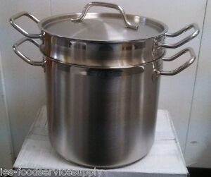 20 Qt Pasta Cooker 18 8 Stainless Induction Ready Commercial Quality Pot