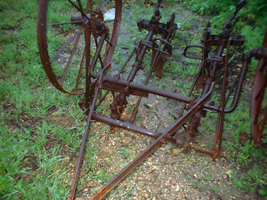 Antique Cultivator Horse Drawn