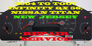 2004 To 2007 Fits Infiniti Qx56 2005 2006 Cluster Softwar Odometer Calibration