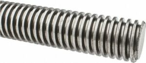 3 4 6 X 72 Inch 6 Foot Acme Threaded Rod 6ft