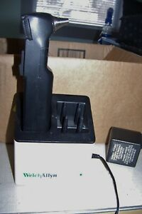 Welch Allyn 23300 Hand Held Audiometer With Charger Stand For Repair