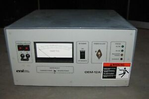 Eni Model Oem 12a Solid State Rf Power Generator 2074