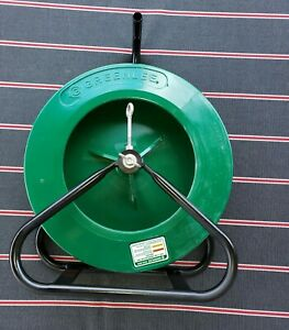 Greenlee Fish Tape 542 250 Fiberglass 250 Ft Cable Wire Puller W stand Fish Tape