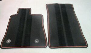 Oem 2017 2018 2019 Chevrolet Camaro Carpet Floor Mats 2 Piece Front Jet Black