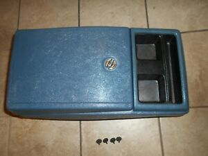 73 87 Chevrolet Chevy Gmc Blazer K5 Truck Surburban Center Console Blue Color
