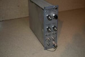 Canberra Spectroscopy Amplifier Model 1417b Nim Bin Plug In tp47