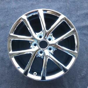 17 Inch Chrome 2011 2013 Lexus Is250 Is350 Awd Oem Factory Alloy Wheel Rim 74237