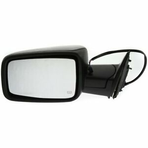 Ch1320303 Left New Mirror Heated Power Truck Textured Black Driver Side Lh Dodge