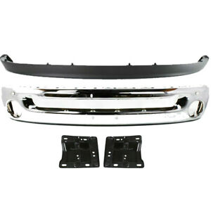 New For Dodge Ram 1500 Pickup 2002 2005 Front Bumper Mounting Air Dam Fits 4pis