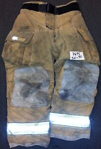 36x30 Pants Globe Gxtreme Firefighter Turnout Bunker Gear With Inner Liner P695