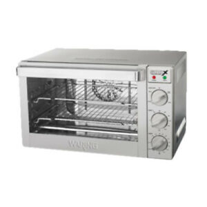 Waring Wco250x Electric Countertop 1 4 size Commercial Convection Oven
