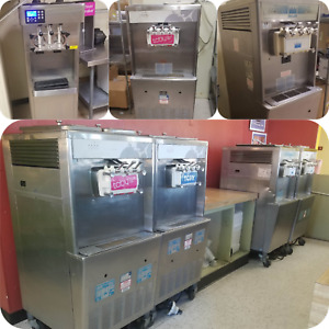 Taylor 754 Stoelting F231 Lot Of 7 Soft Serve 3 phase Machines As Is