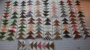 7156 21 Antique 1850 70 S Flying Geese Border Strips Fabulous Fabrics