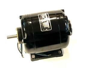 Bodine 1 15 Hp Electric Motor Ac 1725 Rmp 115v 2 2 Amps 60hz Continuous Duty