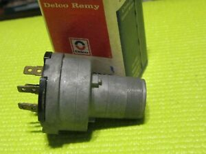 Nos 1957 61 Pontiac 1959 63 Oldsmobile Ignition Switch Delco Remy