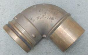 Viega Bronze 4 90 Elbow With 1 Grooved End Nsf 61 new Other Ts1