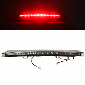 Rear Smoke Led Third 3rd Brake Light 1pc For 99 04 Ford Mustang Replacement
