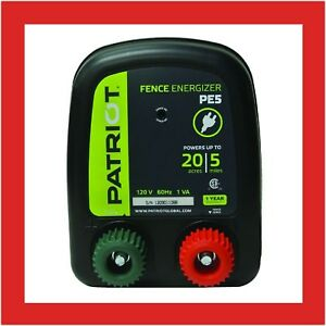 Electric Fence Energizer 0 20 Joule Genuine Farm Animal Horse Supplies New