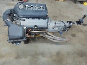 14 Ford Mustang 5 0l Coyote Engine Dropout W 6 Speed Manual Transmission 49k Oe