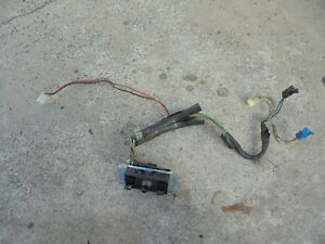 93 02 Camaro Lh Driver Side Power Seat Tracks Switch And Harness
