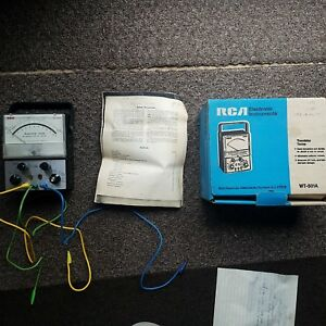 Rca Transistor Tester Wt 501a W manual And Box