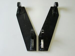 Global Quicke Euro Tractor Attachment Weld On Mounting Brackets Part Free Ship