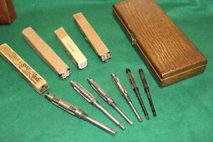 Vintage 6 Pc Set Of Critchley Type Expansion Reamers Cleveland craftsman Nmint