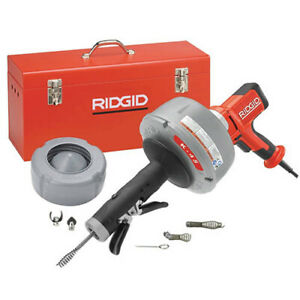 Ridgid 36003 K 45af 5 Drain cleaning machine W autofeed