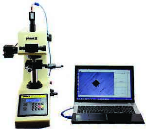 Phase Ii 900 390b Micro Vickers Hardness Tester Video Camera Adapter