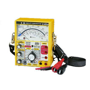 Triplett 2010 Railroad Tester With No Cab Filters