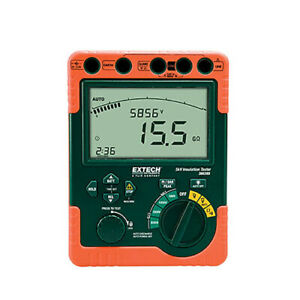 Extech 380395 nist Insulation Tester 110 V W nist Calibration