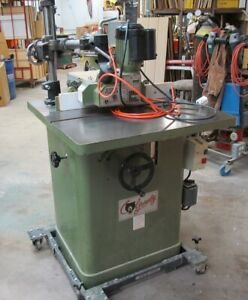 3hp Grizzly Spindle Shaper With Feeder And Shaper Bits