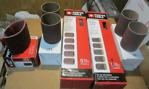 Porter Cable 4 Drum Sanding Sleeves Lot