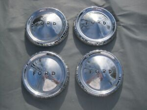 1960 1961 1962 1963 Ford Falcon Fairlane Ranchero Hub Capas Set Of 4