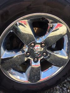 20 ram 1500 Wheel 2013 2017 Chrome Clad Alloy Wheel Rim Only