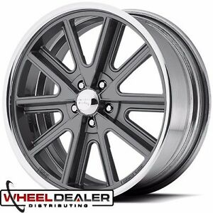 18x8 American Racing Shelby Cobra Sl Wheel Vn407 For Ford Mustang 1965 1973