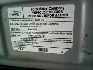 Carrier Assembly 08 09 Ford Taurus Rear Axle 295279