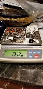 Lot Of Sterling Silver Jewelry Some Scrap Some Not Over 100 Total Grams 18