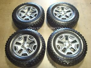17 2013 17 Jeep Wrangler Rubicon Wheels Tires Oem Rims Factory Sport Unlimited