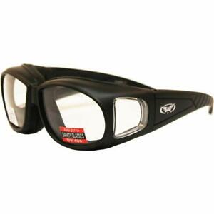 Outfitter Clear Lens Safety Glasses Fits Over Most Glasses Padded Z87