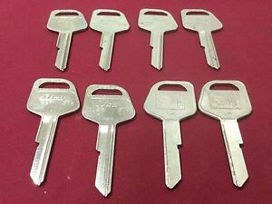Gm By Curtis Ilco B79 Key Blanks Set Of 8 Locksmith