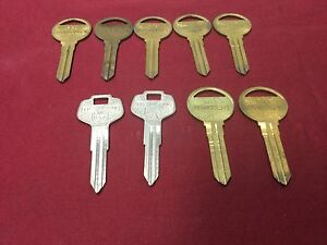 Nissan Mazda By Curtis Automotive Key Blanks Ml14 Da27 Set Of 9 locksmith