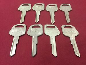 Gm By Curtis B67 Key Blanks Set Of 8 Locksmith