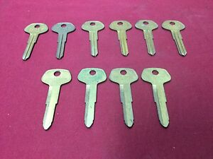 Toyota By Curtis Automotive Tr29 Tr25 Key Blanks Set Of 10 Locksmith